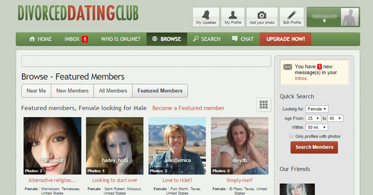 Divorced Dating Club Review