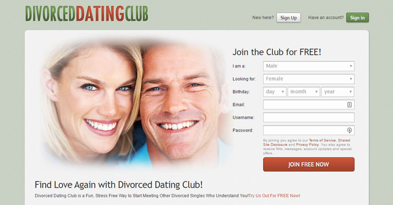 Divorced Dating Club