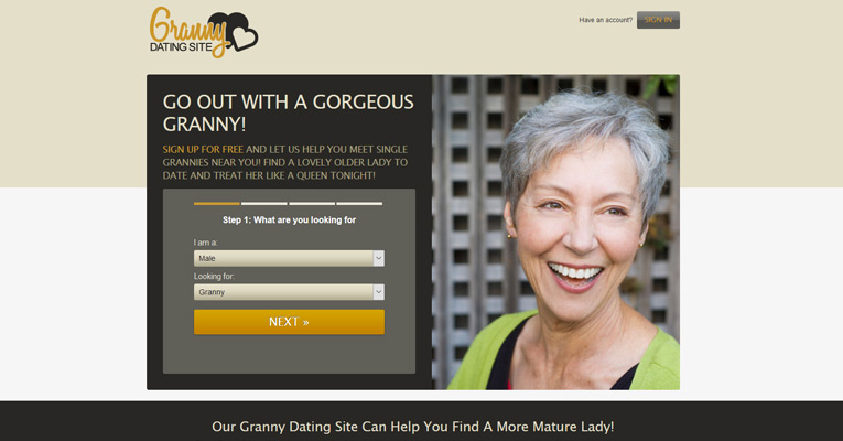 Free grandma dating sites