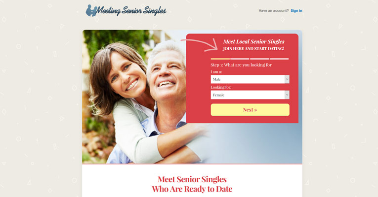 Meeting Senior Singles